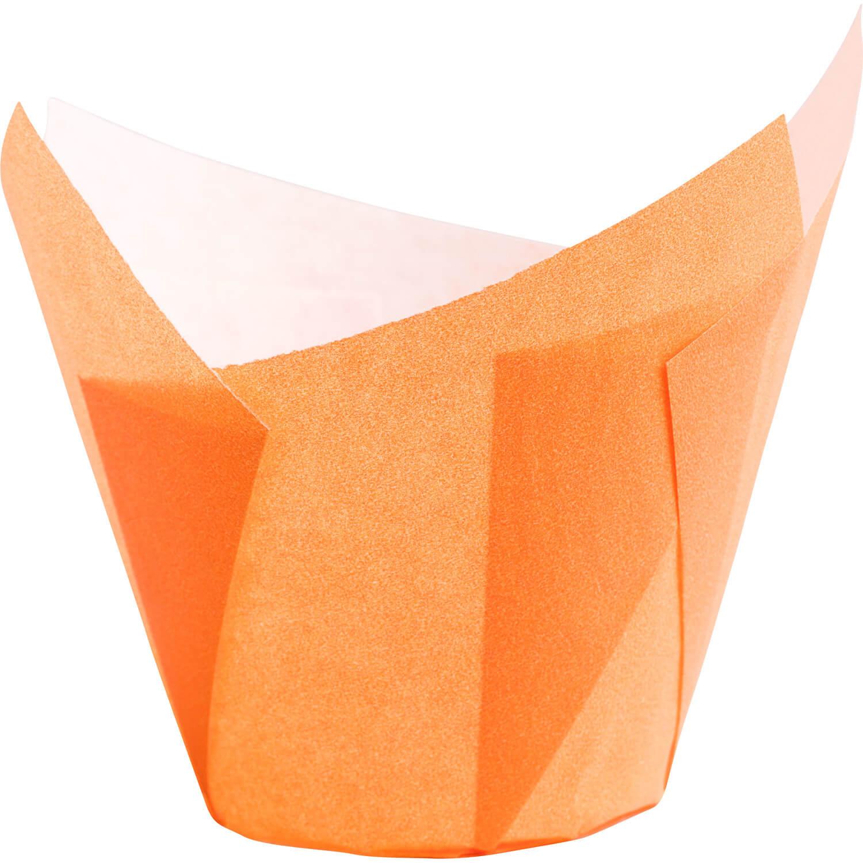 Muffin-Tulip-Wraps, orange, 160x160 mm, 200 Stk.