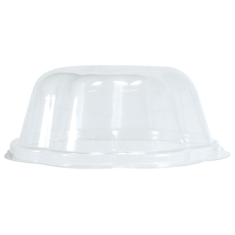 BIO Deckel für Eisbecher 130ml, transparent, PLA, 50 Stk.
