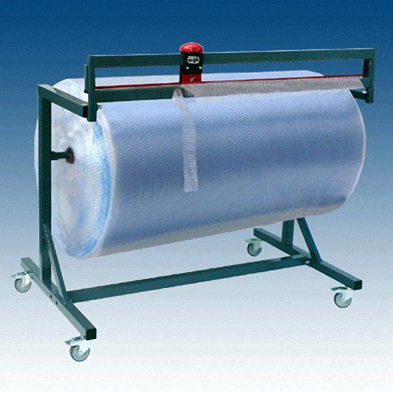 Schneidständer für Papierrollen und Folienrollen fahrbar Rollenbreite 150cm