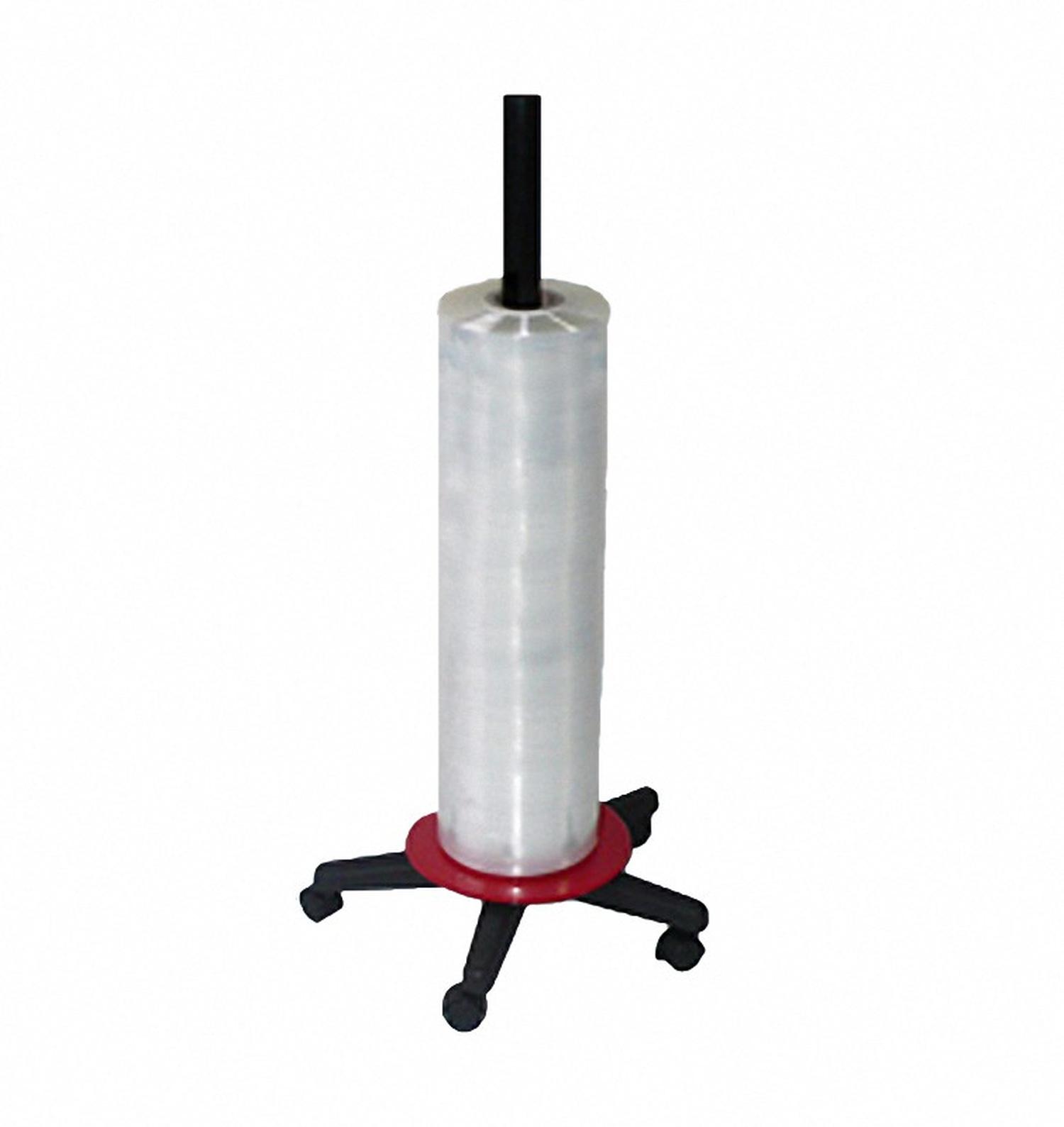 Folienspender senkrecht für Folienbreite bis  950 mm, rot/schwarz bis 50kg