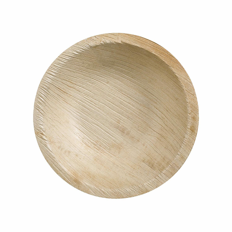 Palmblattschale TESSERA  Ø 12 cm 180ml rund, 25 Stk.