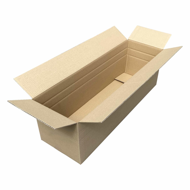 Faltkarton  800x250x(150)-250mm, mit VARIABLER HÖHE 1wellig DICKWELLE