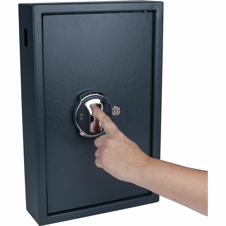 Schlüsselkasten High Security für 50 Schlüssel mit Fingerabdruckscanner