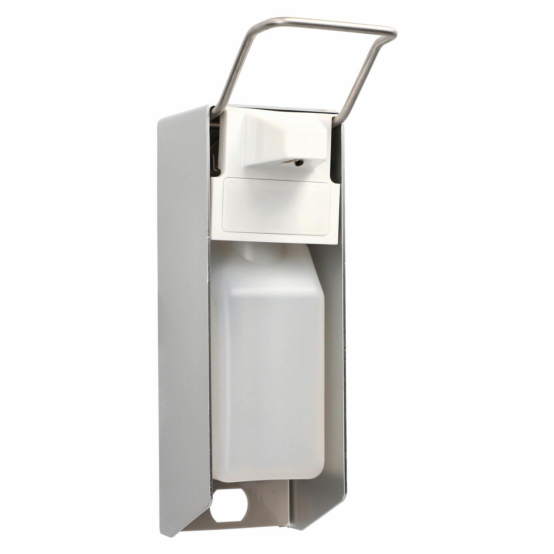 Wandspender 24,2 x 8,3 x 15,5 cm Aluminium 500 ml Kurzarmhebel + Leerflasche