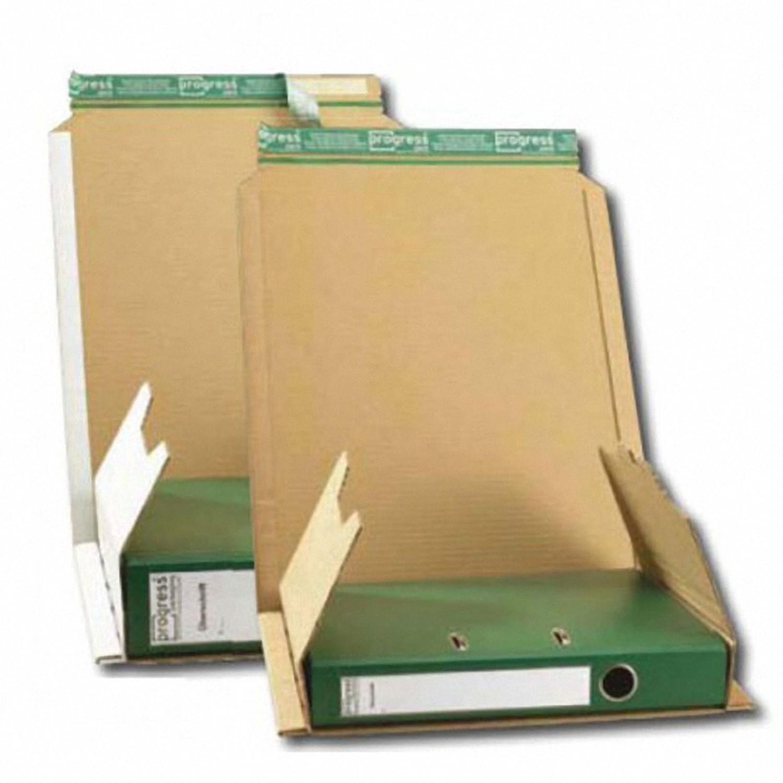 Ordnerverpackung A4 zum Wickeln für Rückenbreite bis 80mmn 320x290x -80 mm braun