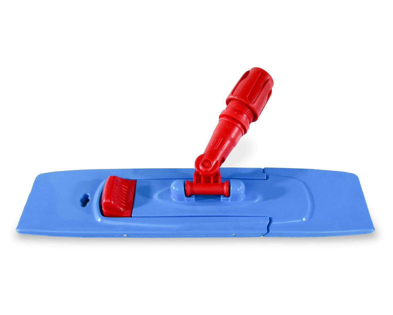 Profi Mopphalter mit Magnet geeignet für Tasche , 40 cm, blau