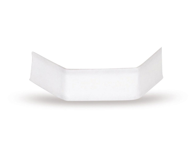 U-Clipse Verschlussclipse Beutelverschlüsse 33 mm Weiss Papier, 1000 Stk.
