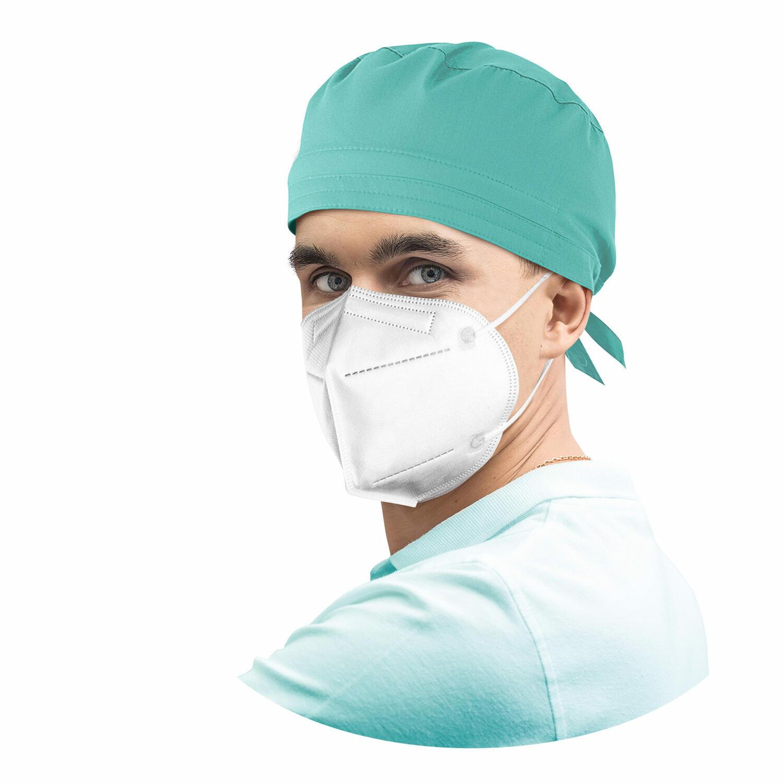 Atemschutzmasken FFP2 (EN 149:2001+ A1:2009) CE 2163 Zertifizierung, 10 Stk.