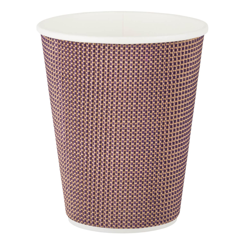 Premium Doppelwand Kaffeebecher Coffee to go beschichtet 300ml 420ml,  25 Stk.