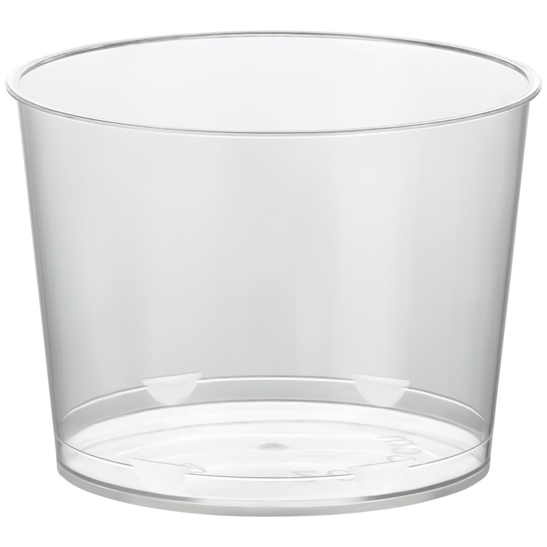 Eisbecher PS rund 200 ml Ø 7,8 cm | Höhe 5,8 cm glasklar CLASSIC  100 Stk.