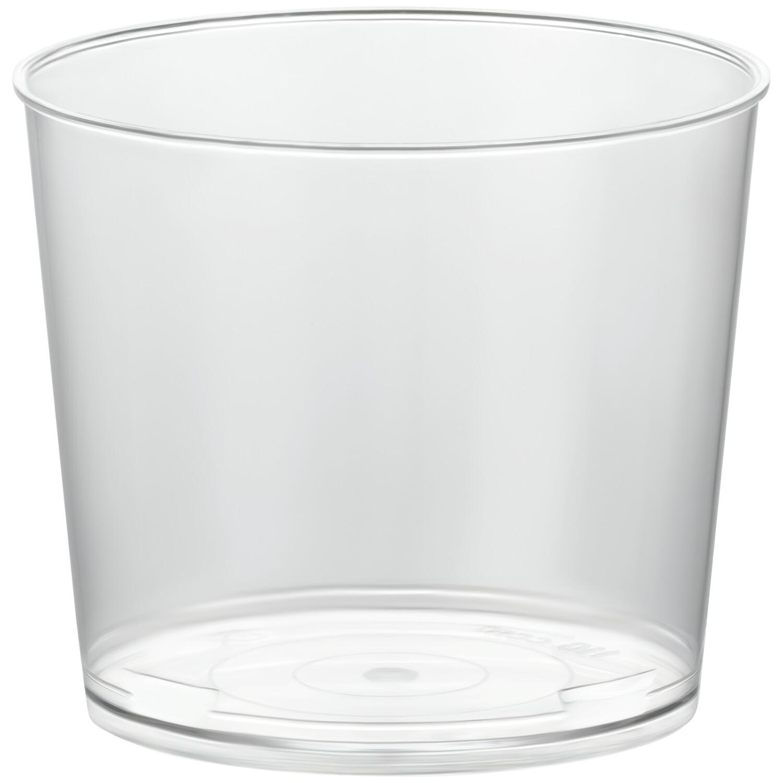 Eisbecher PS rund 170 ml Ø 7,7 cm | Höhe 4,9 cm glasklar CLASSIC  100 Stk.