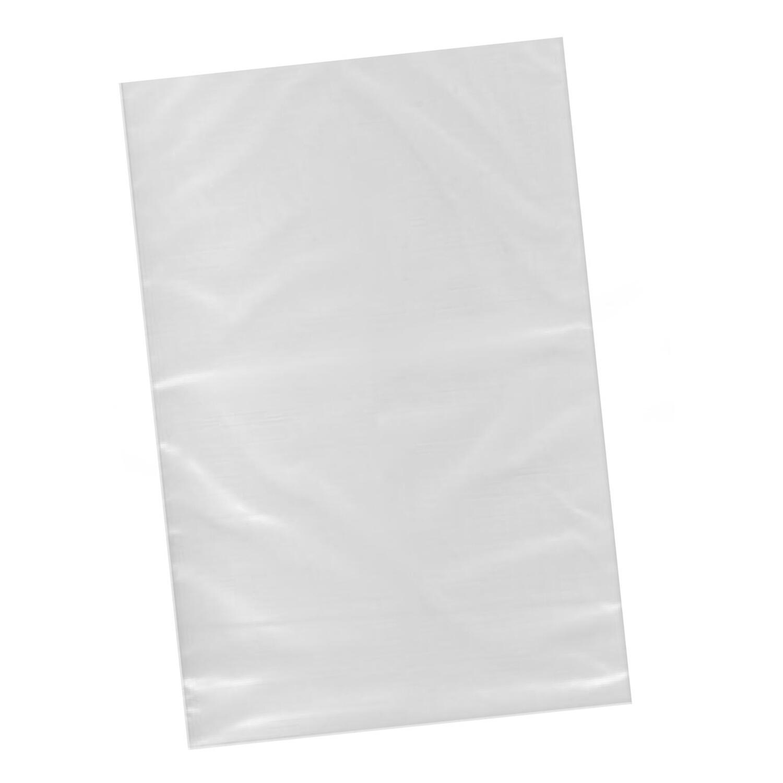 Flachbeutel  250 x 350 mm,  50my, transparent, 100 Stk.