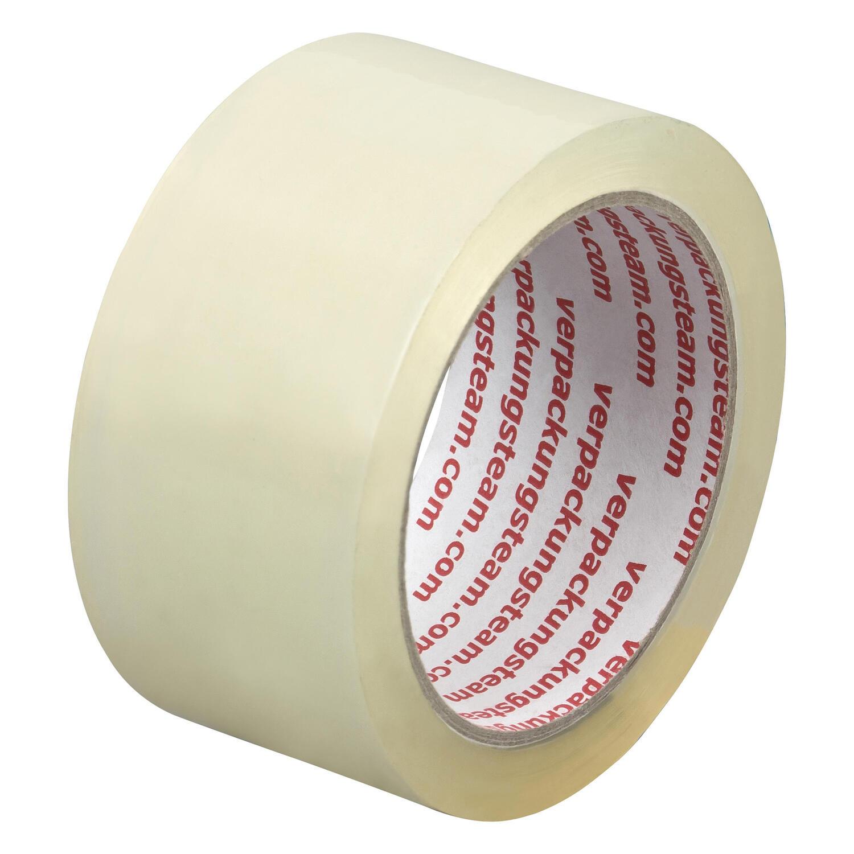 1-PACK Packband Klebeband OPP-909NN, 50 mm x 66 m, Low Noise transparent