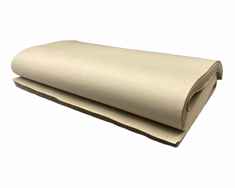 Packpapier Schrenzpapier 80gr. 50x75cm, 10kg, ca. 330 Bögen