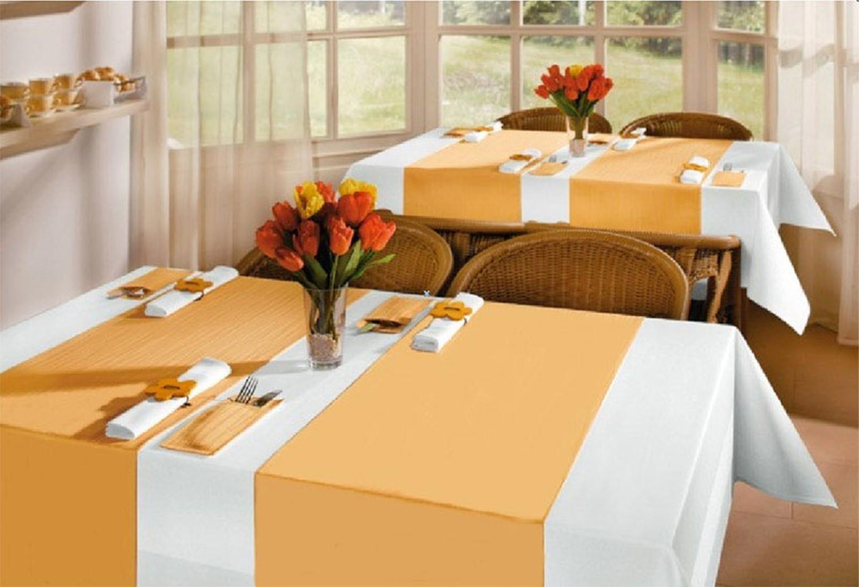 Tischläufer Airlaid 24m x 40cm - alle 120cm perforiert, stoffähnlich, dunkelblau