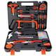 Pavo Universal  104 tlg. Werkzeugset, Werkzeugkasten für den Haushaltsbereich