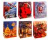 Premium Geschenktüten Präsenttüten mittel Weihnachten 1 | 227x180x100mm 12 Stk.
