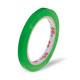 Klebeband Markierungsband Beutelverschluss PVC, 66m x 9mm,  grün